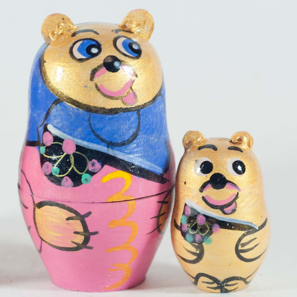 Matryoshka Family of Bear