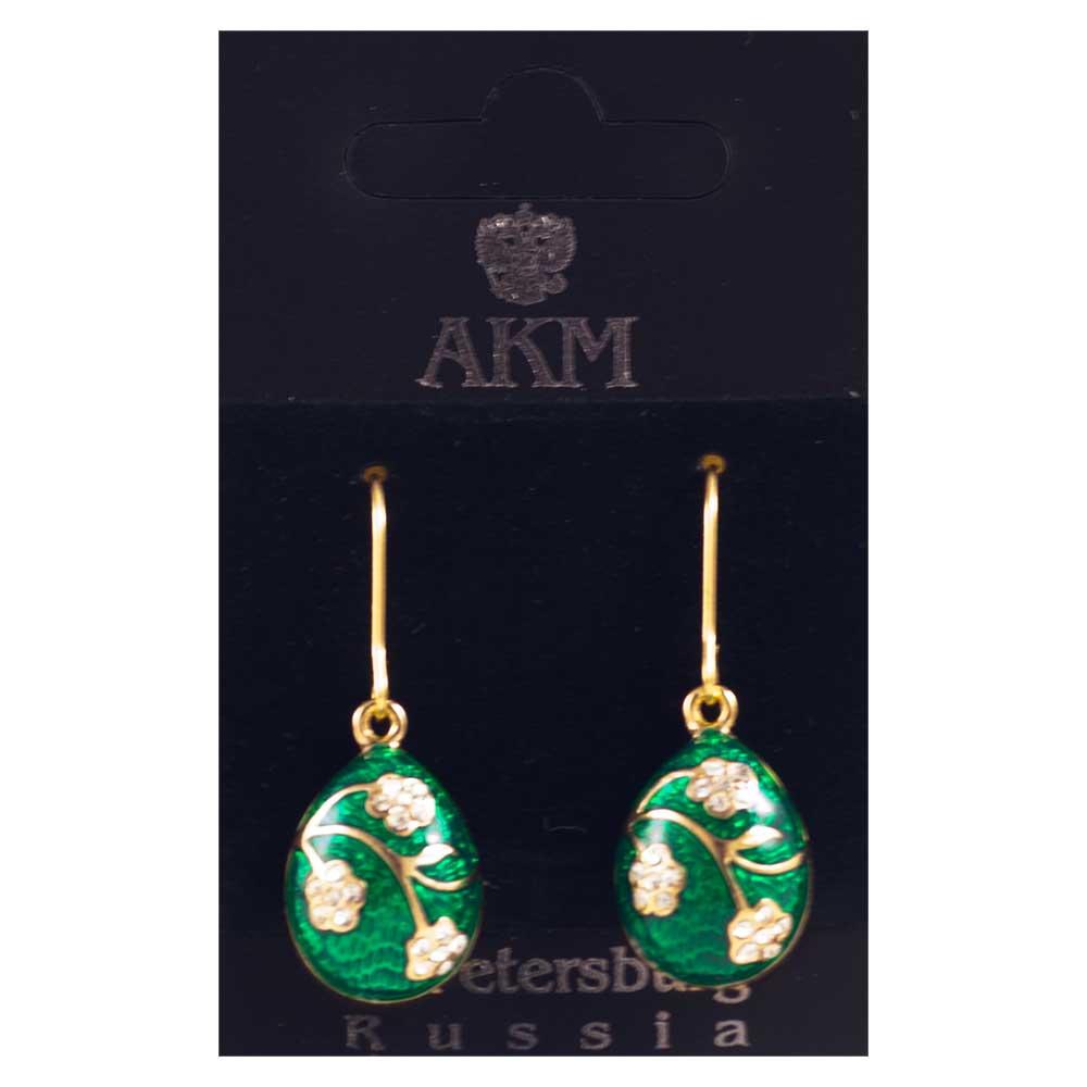 Earrings Faberge Style