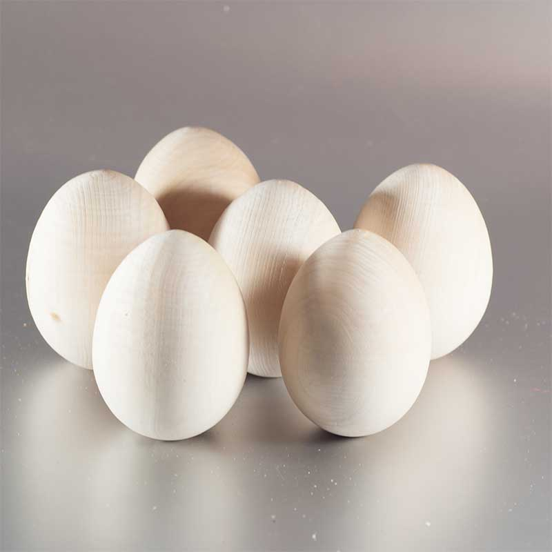 Wood Blank Unpainted Egg