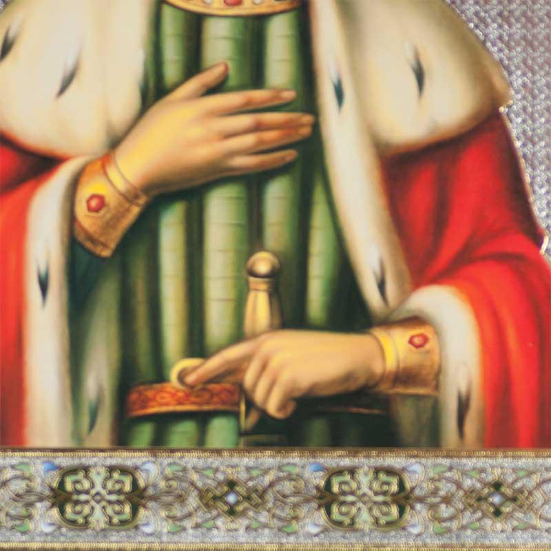 Saint Alexander Nevskiy Russian Icon