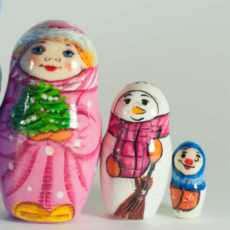 Matryoshka Santa Clause