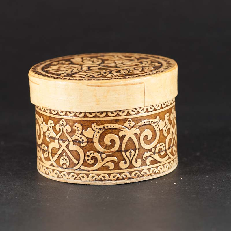 Birch Bark Trinket Box