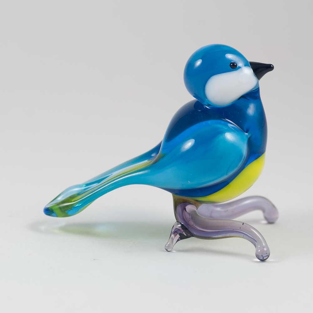 Glass Blue Tit