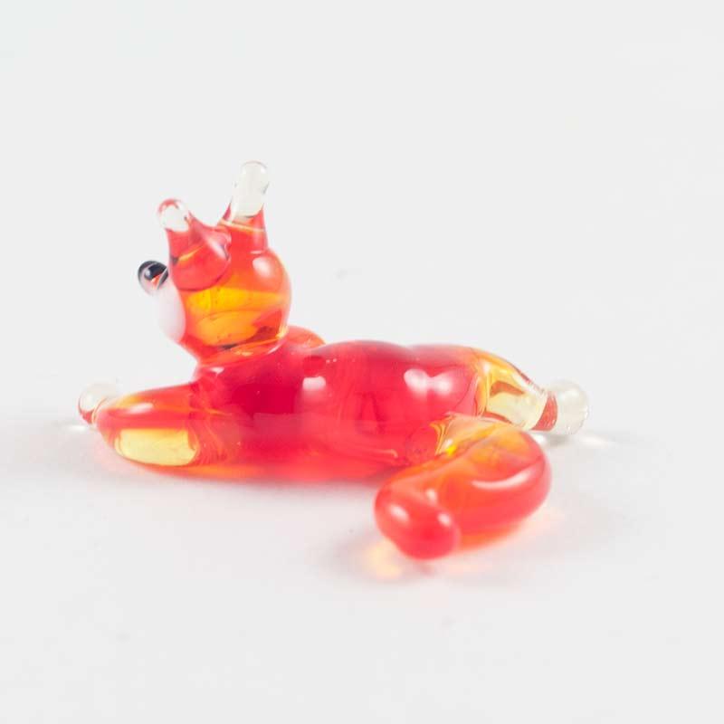 Fox Glass Figurine