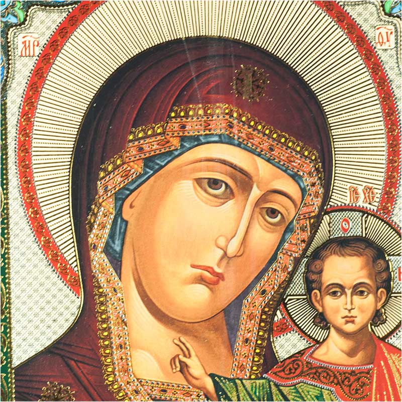 Icon Our Lady Kazanskaya