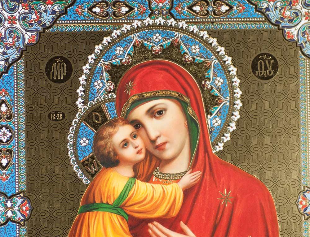 Icon Theotokos Vladinirskaia