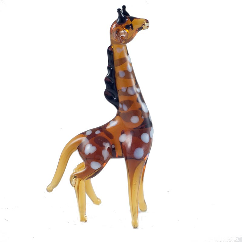 Blown Glass Giraffe