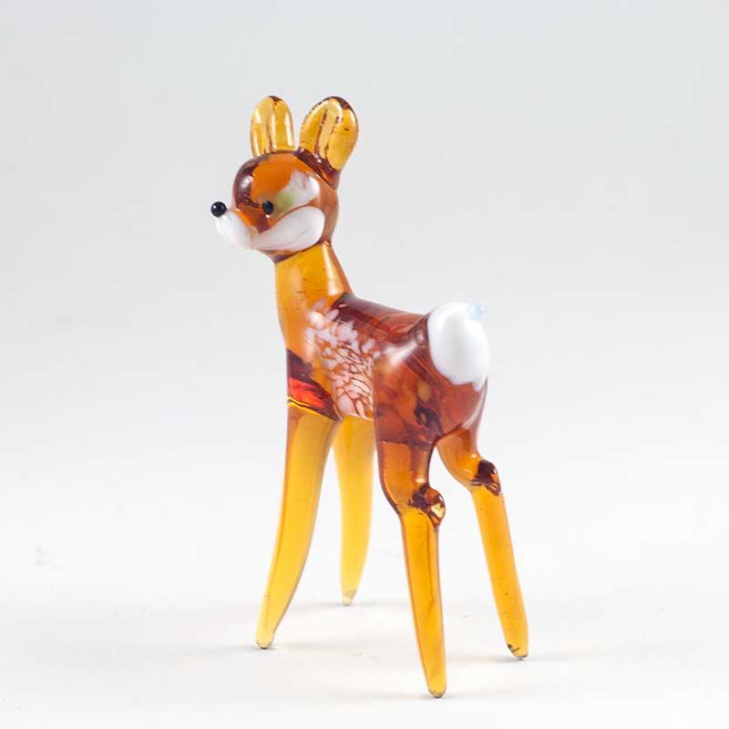 Bambi Deer glass figurine
