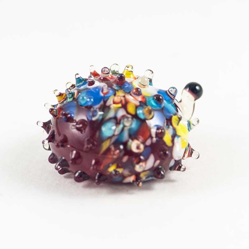 Hedgehog Glass Figure