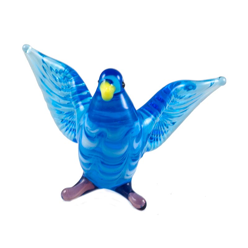 Glass Dove Figure