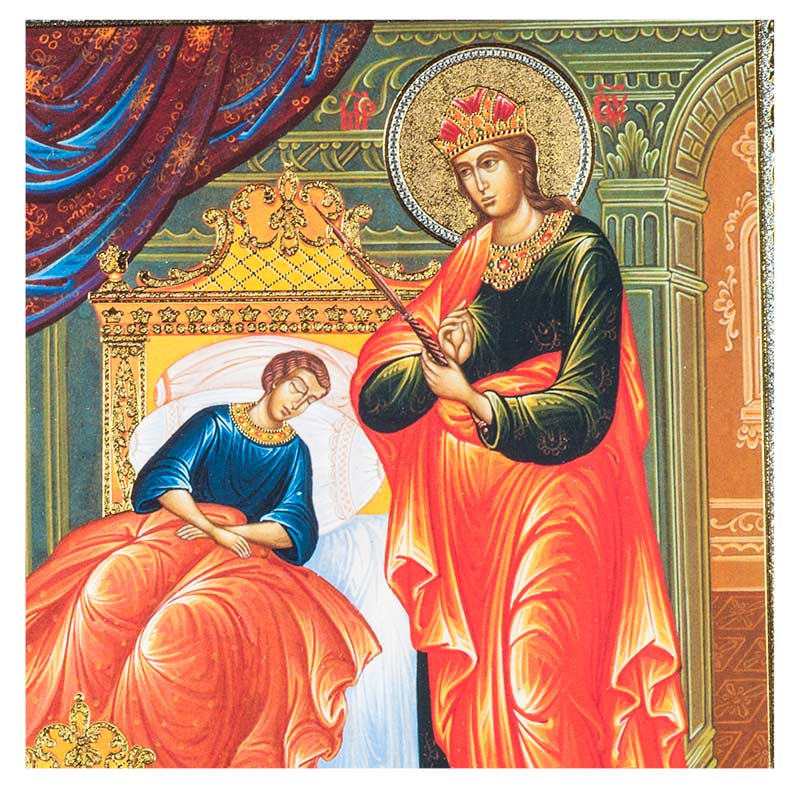 Russian Icon Theotokos The Healer