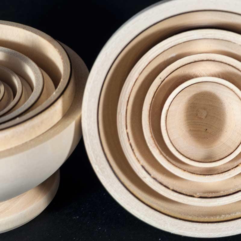 Round Shape Blank Matryoshka