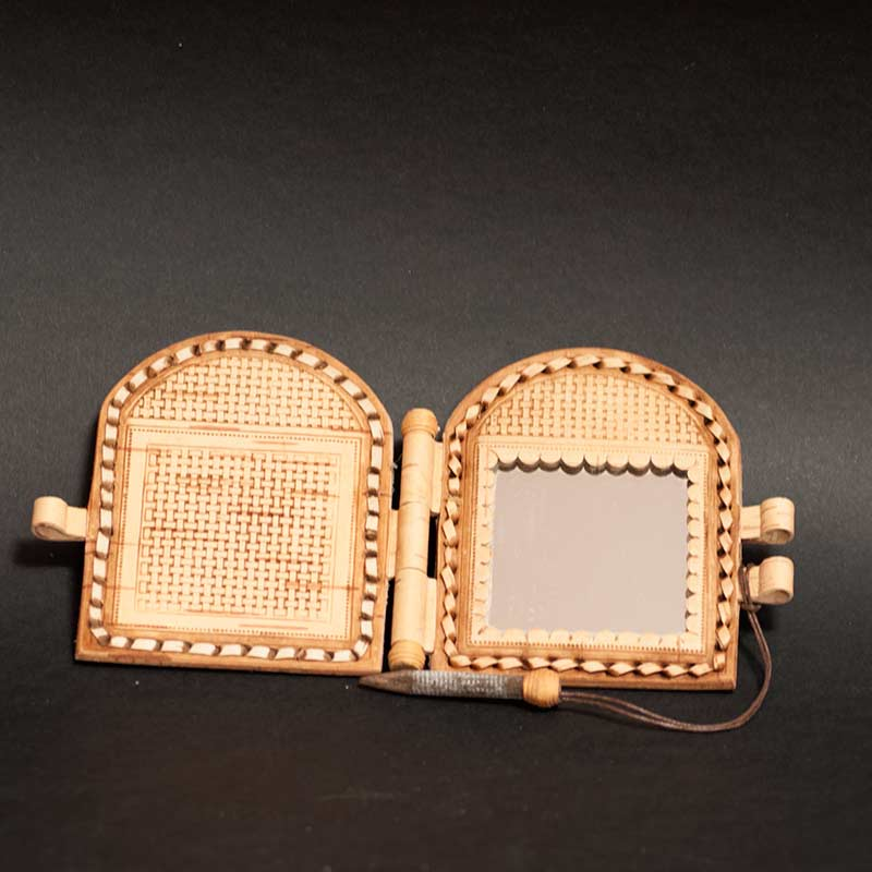 Birch Bark Compact Mirror