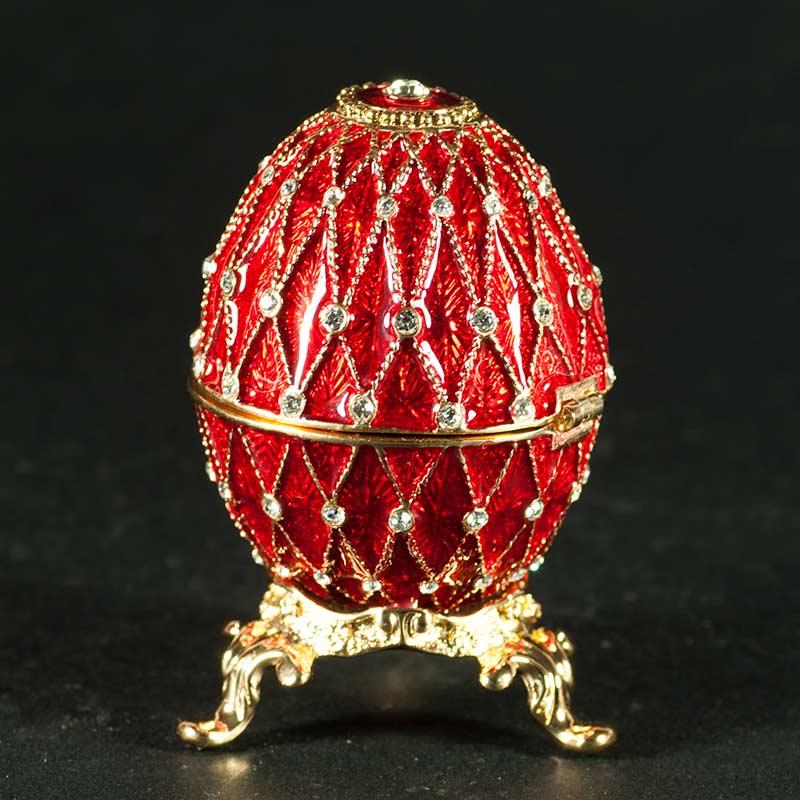 Egg Openwork Net Red