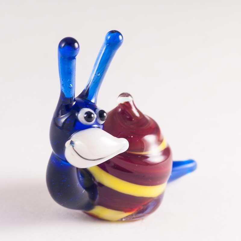 Glass Snail Figure