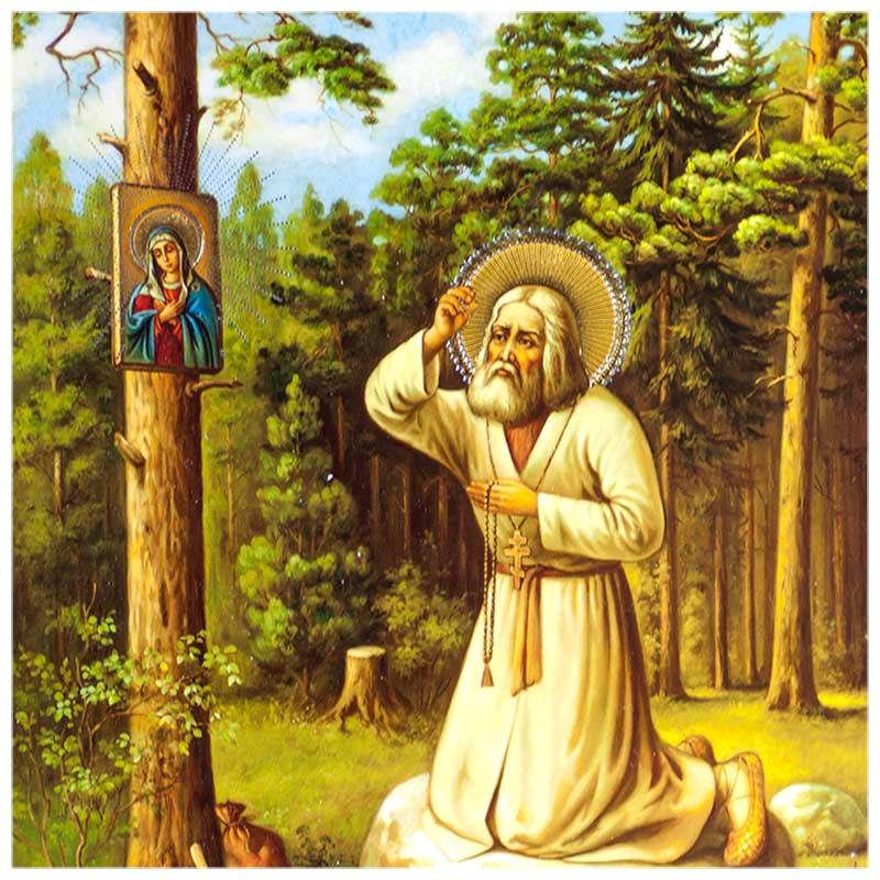 Icon Saint Seraphim of Sarov
