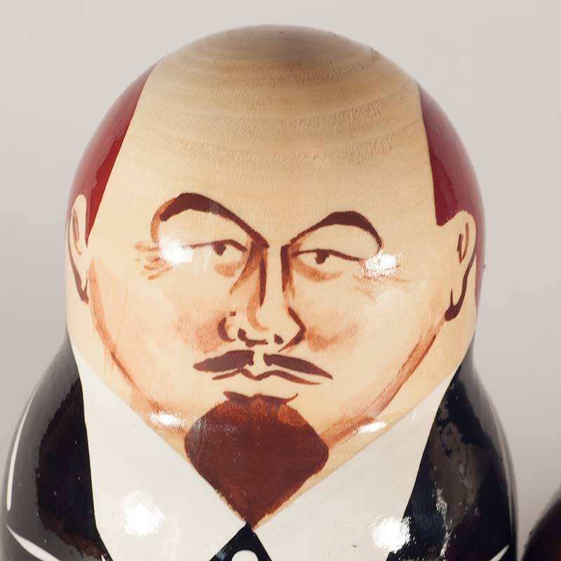 Lenin and Other Russian Leaders