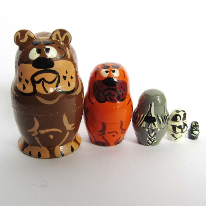 Dogs Nesting Doll