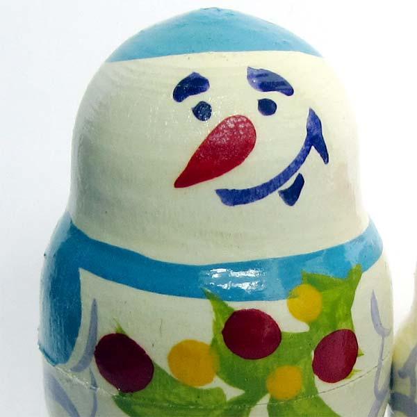 Nesting Doll Snowmen