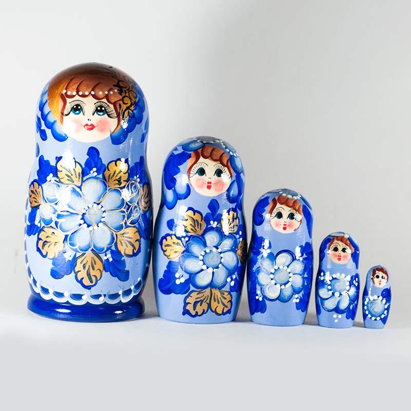 Matryoshka Nesting Dolls Russian Dolls History Babushka Dolls