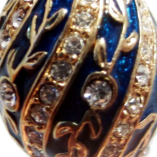 Faberge Pendant Twisted