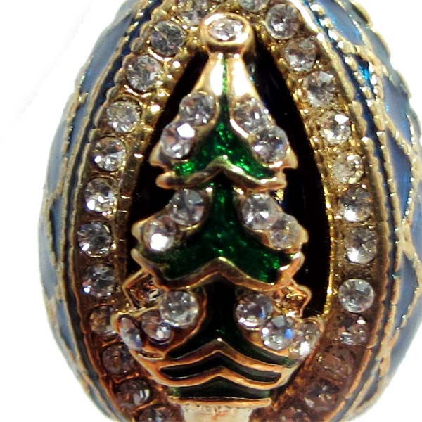 Faberge Pendant Christmas Tree