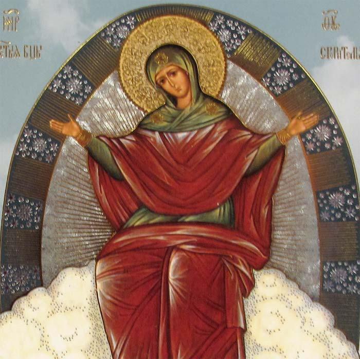 Icon Theotokos Provider of Bread