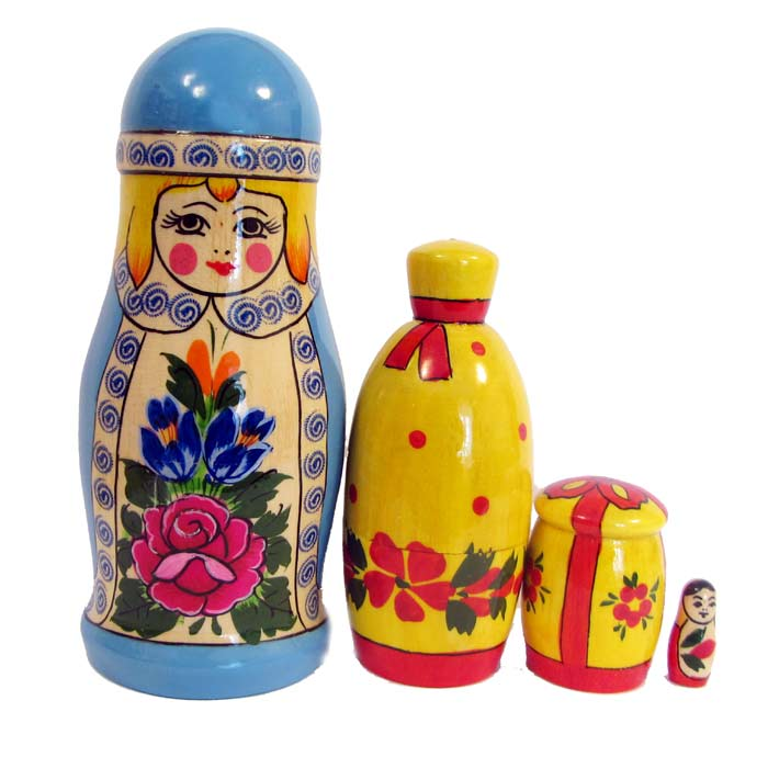Snegurochka Nesting Doll