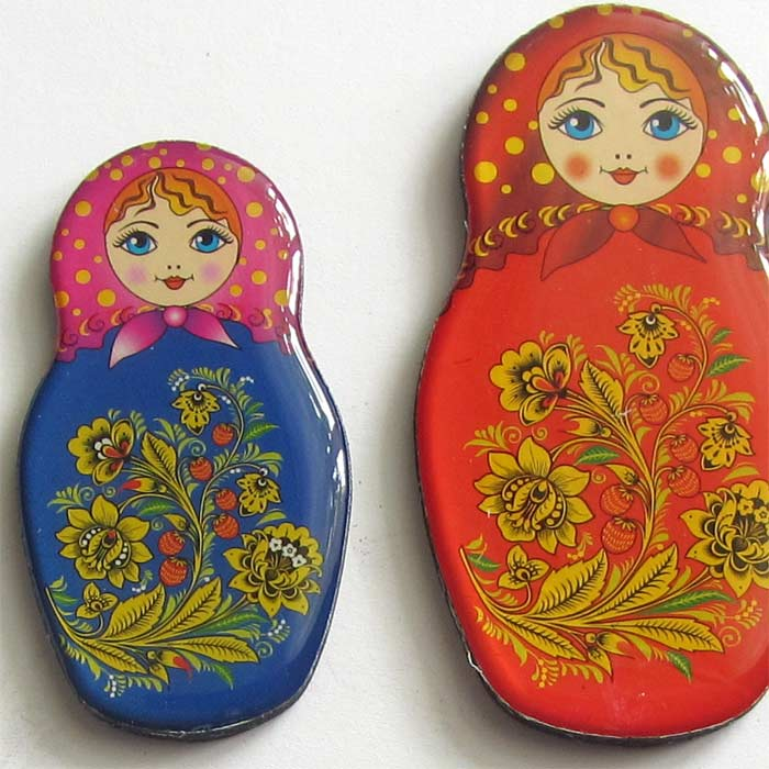 Magnet set Matrioshka