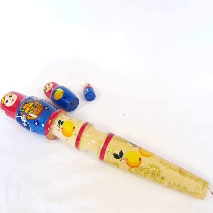 Pencil with Matryoshka