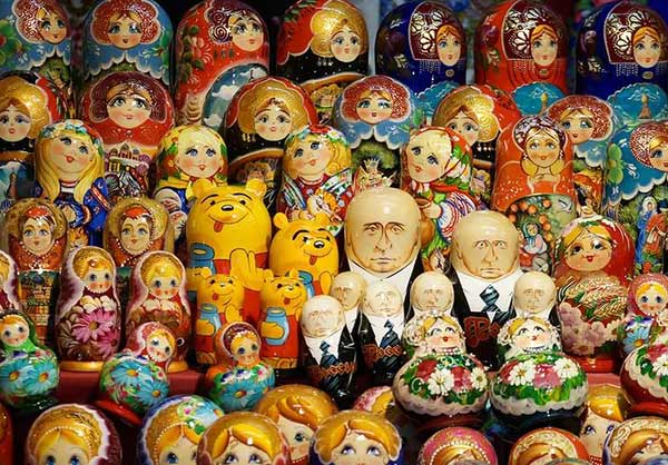 Sale of nesting dolls