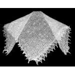 White Orenburg shawl