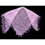 Pale pink Orenburg shawl