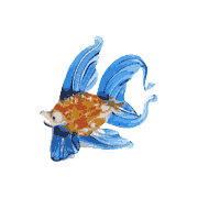 Glass Sea Creatures Figurines