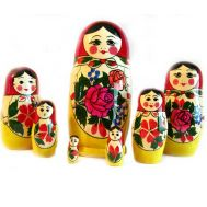 Semionovo Nesting Doll 7 Pieces Set, fig. 1