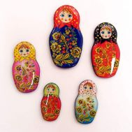 Set of Magnets Matryoshka, fig. 1