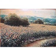 Sunny field wall tapestry, fig. 1