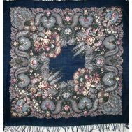 Under Silver Water Pavlovsky Shawl, fig. 1