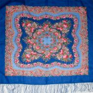 Romantic Shawl Blue, fig. 1