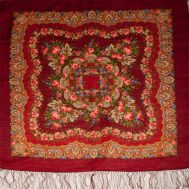 Romantic Shawl Red, fig. 1
