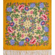 Russian Shawl Colormania Orange, fig. 1
