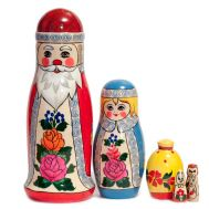 Matryoshka Father Frost Russian Santa, fig. 1
