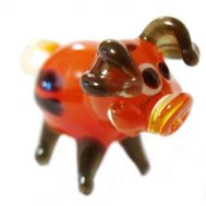 Glass Piglet Figurine, fig. 1