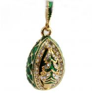 Christmas Faberge Pendant, fig. 1