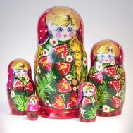 Polina's Godmother Matryoshka, fig. 1