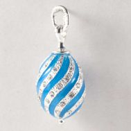 Pendant Twisted Blue, fig. 1