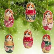 Christmas Ornaments Matryoshka Style, fig. 1