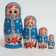 Matryoshka Sneguroсhka in Blue Coat, fig. 1