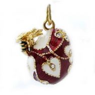 Bee Faberge Style Pendant, fig. 1