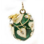 Faberge Pendant Bee Green, fig. 1